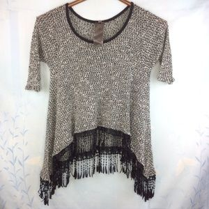 Moon Collection Knit Top Medium